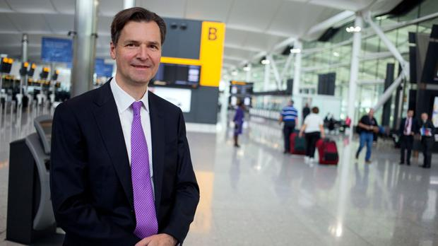 John Holland-Kaye said without expansion at Heathrow, the Northern Powerhouse could suffer