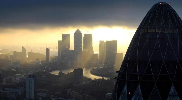 Banking staff have been drafted in to work overnight to deal with the result of the referendum on the UK's membership of the EU