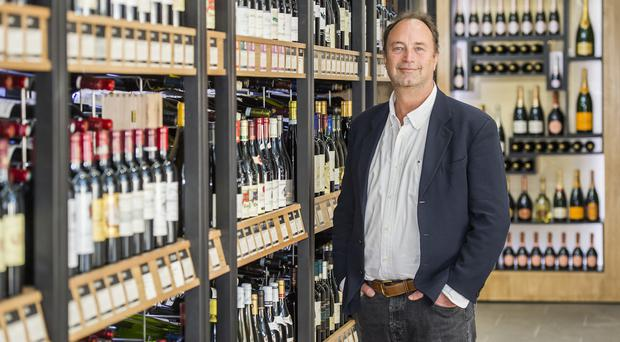 Majestic Wine chief executive Rowan Gormley said the plan to transform the company was 'beginning to pay off' (Majestic Wine/PA)