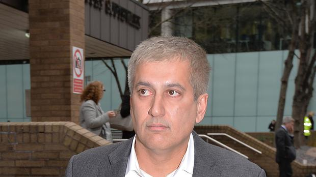 Jay Vijay Merchant leaves Southwark Crown Court