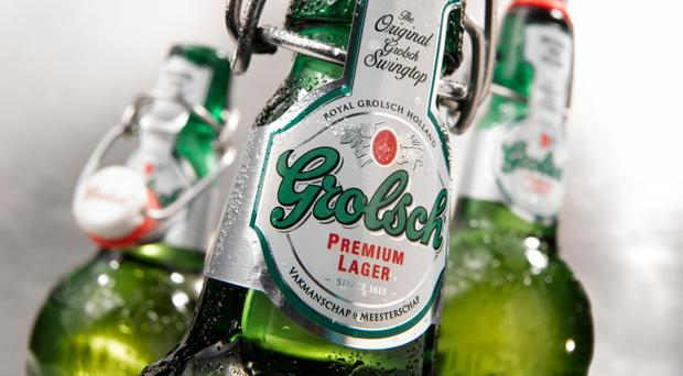 Grolsch brewer SABMiller has seen profits tumble