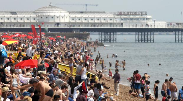 Many Britons are planning to take a domestic holiday, the research suggests