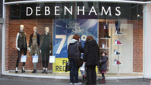 Debenhams said it remained on track with an overall move to cut down on promotions and special offers