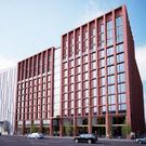 An artist's impression of the new 774-bedroom development at Nelson Street, proposed by Olympian Homes
