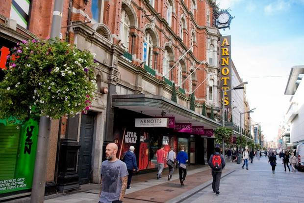 The department store Arnotts in Dublin has agreed a deal with John Lewissaid