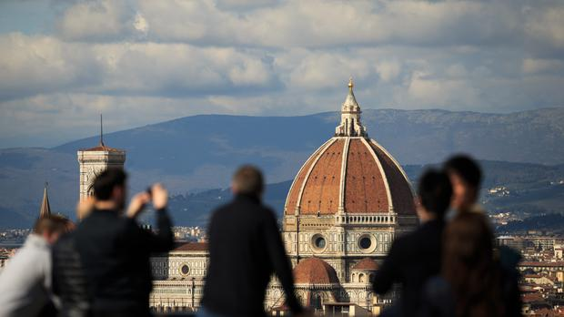 Holidaymakers buying euros for destinations like Florence in Italy will be affected.
