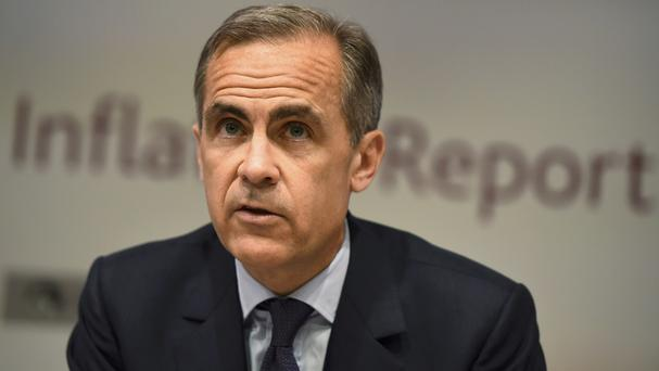 Governor of the Bank of England Mark Carney is to make a statement later