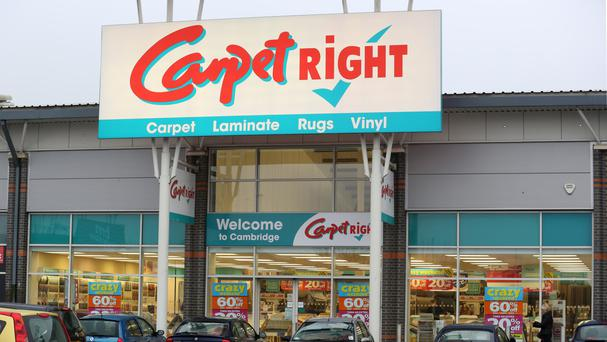 Carpetright saw underlying pre-tax profit rise 33.1% to £17.3 million