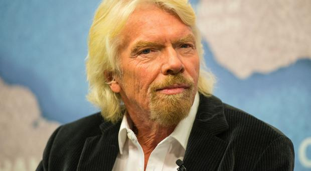 Sir Richard Branson hailed the awards' finalists