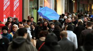 Retail space prices Princes Street are predicted to rise as a result of the St James Centre being closed temporarily