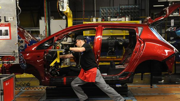 UK car manufacturing is buoyant thanks to access to the single market