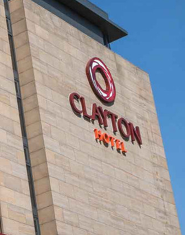 The Clayton Hotel in Belfast