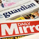 Trinity Mirror publishes the Mirror newspaper