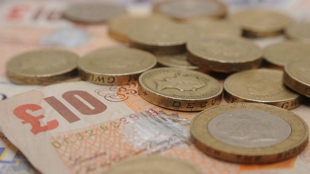 The Living Wage is £9.40 an hour in London and £8.25 outside the capital