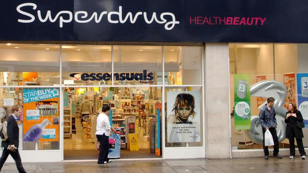 Superdrug said that make-up and beauty sales rocketed 11%