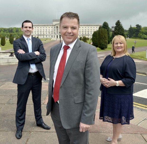 Chief executive Harry Parkinson (centre) leads the Capitalflow Commercial Finance team