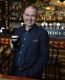 Phoenix Premium Drinks chief Niall McMullan will be importing beers from Stone Breweries in San Diego