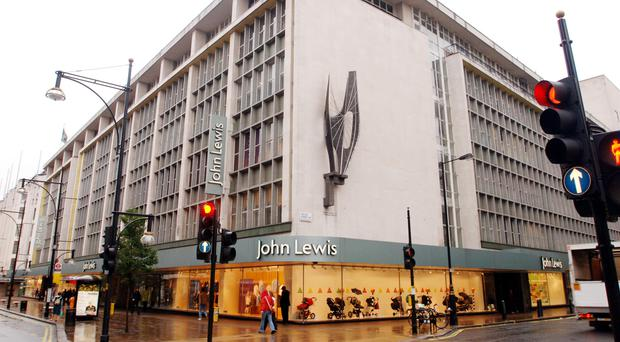 John Lewis sales figures for the week to July 2 showed that sales rose 2.1%