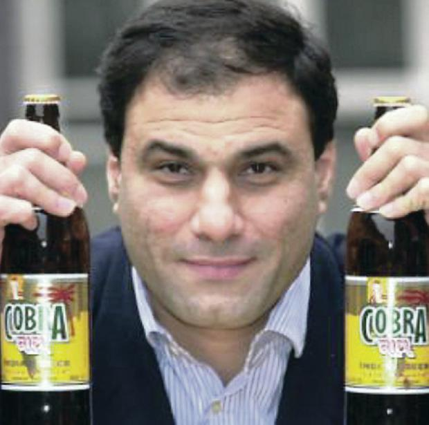 Founder of Cobra beer, Lord Bilimoria