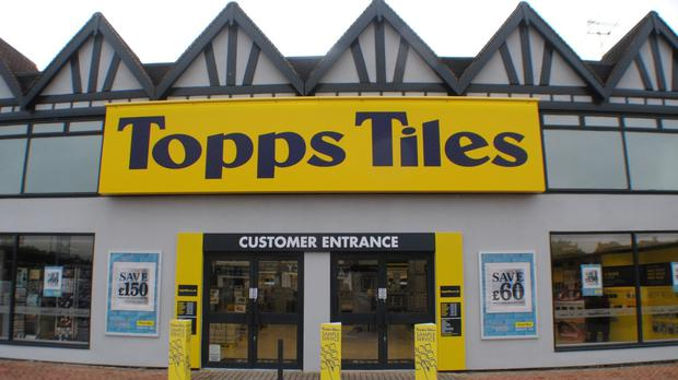 Topps Tiles said that like-for-like sales grew 6.2% in the period amid a programme to revamp its stores and ranges
