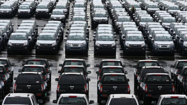 New car sales were down 0.8% last month compared to June 2015