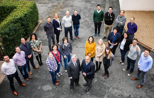 Companies taking part in the Invest NI Propel programme were joined by its director of skills and strategy Niall Casey, and Raomal Perera, angel investor and professor of entrepreneurship