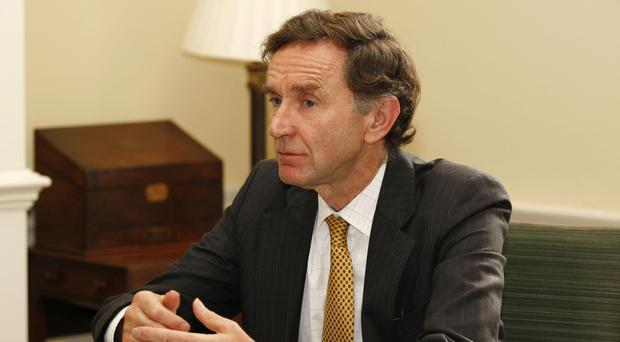 Lord Green issued the warning about trade negotiations