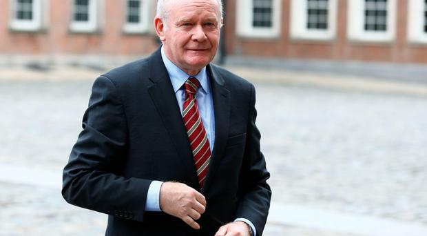 Brexit talks: Martin McGuinness