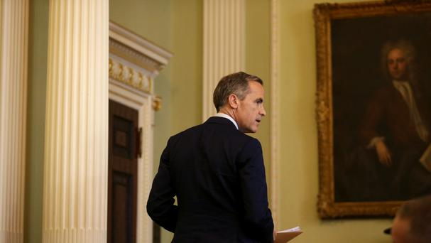 Governor of the Bank of England Mark Carney has signalled a possible cut in interest rates