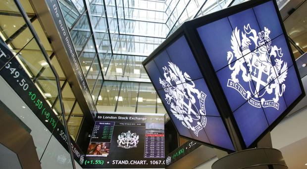 The FTSE 100 Index was 56.9 points higher at 6590.6