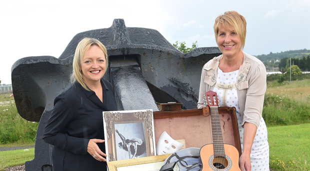 Arts & Business chief Mary Nagele (left) and Helen Hutchinson
