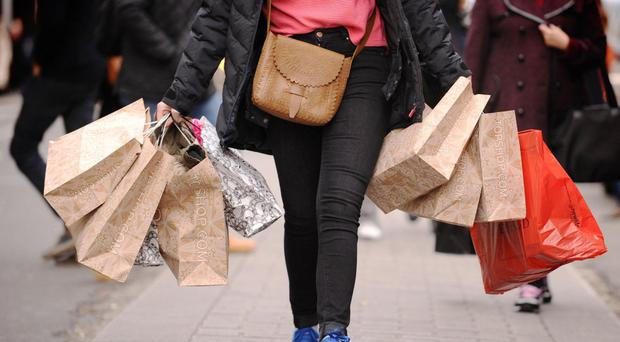A slide in clothing sales dragged down spending by shoppers in June, new figures show