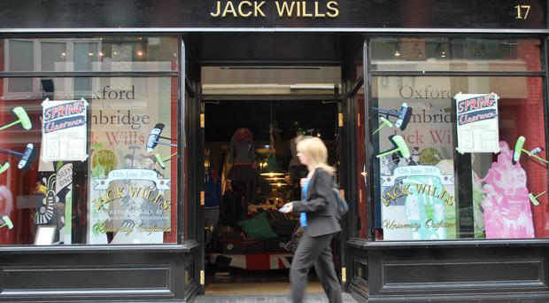 Jack Wills is to cut up to 15 jobs across its buying and merchandising divisions