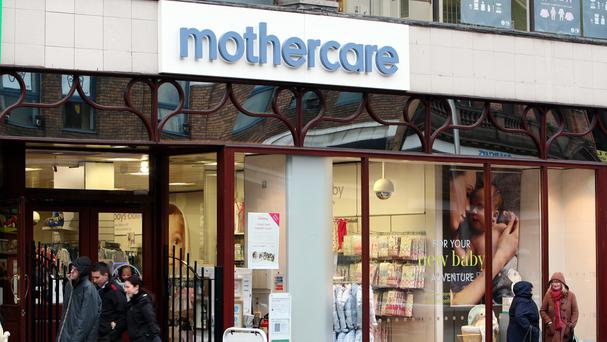 Mothercare's UK like-for-like sales rose 1.2% - a slowdown from previous quarters