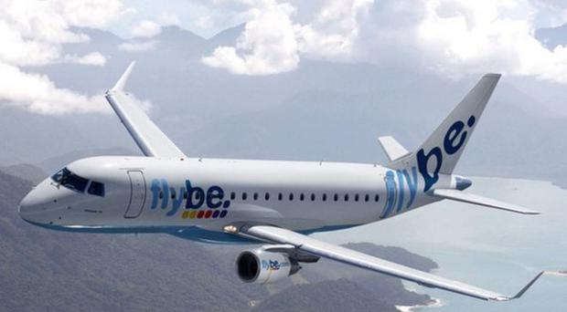 The incident happened on a Flybe flight