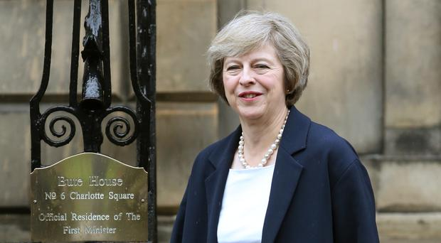 Theresa May is to visit Wales
