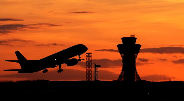 It is thought the new technologies could replace air traffic control towers as a bricks and mortar installation
