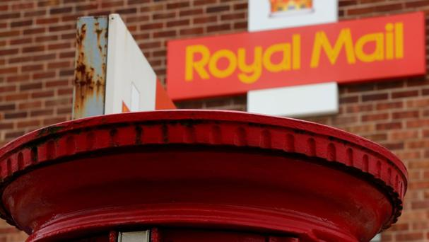 Royal Mail revenues from letters were 3% lower in the quarter, but overall group turnover was 1% higher