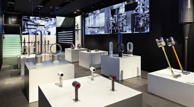 The new Dyson store in London