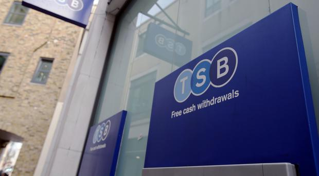 File photo dated 29/03/15 of a branch of TSB bank in Greenwich, London, as the challenger bank called on regulators to use the