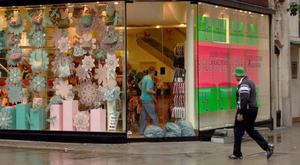 A study shows a nine per cent fall in applications to build shops in the last year, down for the seventh year running