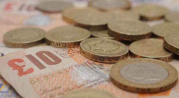 The exchange rate had helped bolster the investment firm's performance