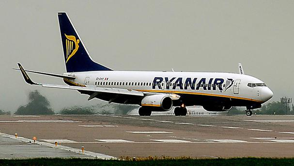 Grounded: Brexit has hit Ryanair routes.