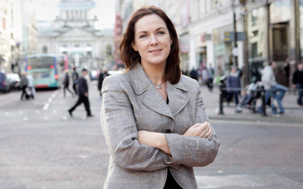 Angela McGowan will take up her new role as CBI director in October