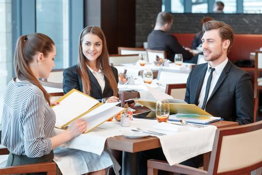 Business lunches may have changed in character, but they are still crucial for making personal connections