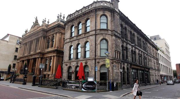 The Merchant Hotel offers a number of great dining options
