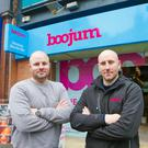 David (left) and Andrew Maxwell have plans to expand Mexican fast-food chain Boojumarate