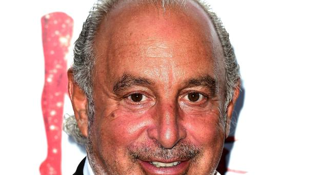 Sir Philip Green insisted he is