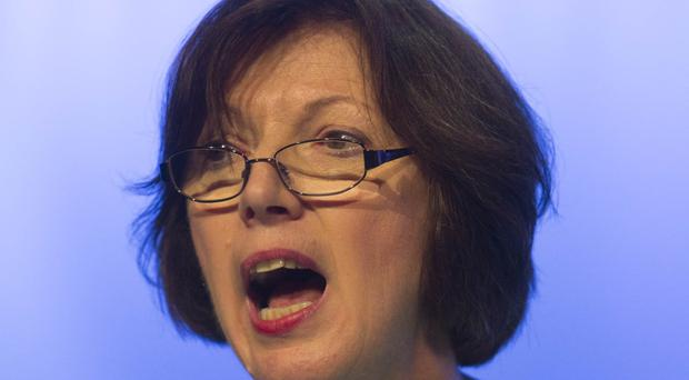 Frances O'Grady says working people in the UK