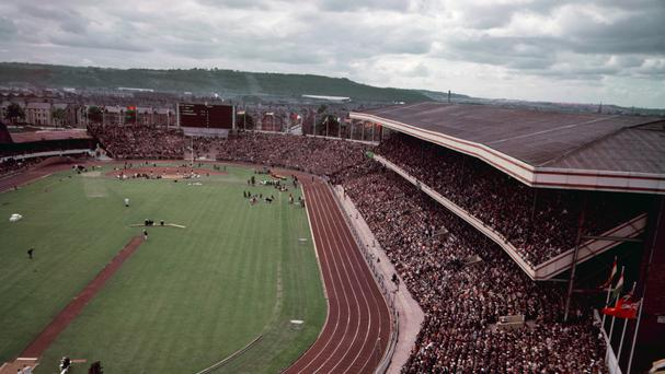 Wales staged the 1958 Empire Games